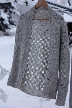 ideas crochet jacket winter ravelry for 2019 Mode Crochet, Knit Crochet, Knitting Stitches, Hand Knitting, Knitting Patterns, Crochet Patterns, Modelos Fashion, Crochet Jacket, Lace Jacket