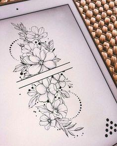Pretty Tattoos, Cute Tattoos, Beautiful Tattoos, Leg Tattoos, Body Art Tattoos, Small Tattoos, Tatoos, Tattoo Ink, Floral Mandala Tattoo