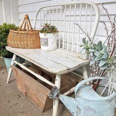 "Rhonda ⚜ Hallstrom Home (@hallstromhome): ""Life on the farm #farmlife #countryliving"""