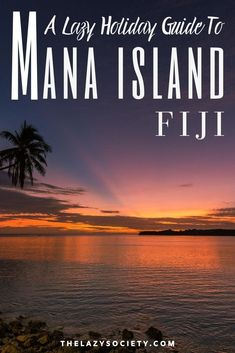 Check our lazy holiday guide to Mana Island which is a idyllic tropical resort island located on the North West of Fiji is  with close proximity to Nadi and Denarau island. Click through to see. #fiji #manaisland #traveltips #travel #pacific #familytravel Summer Travel, Travel With Kids, Time Travel, Family Travel, Fiji Islands, Close Proximity, Beautiful Islands, North West, Great Places
