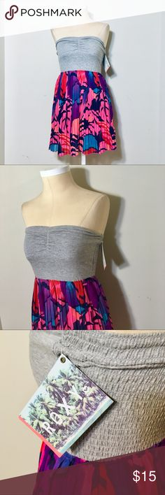 f25d71ae60bb Foxy Vivid Colorful Dress NWT dress by boutique brand Roxy. Size Small.  Fits 2