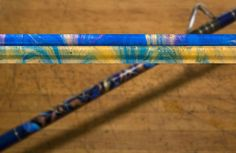 Custom rod marbling is one of the hottest new techniques rod builders are using… Custom Fishing Rods, Ice Fishing Rods, Fishing Rod Storage, Fly Fishing, Fishing Poles, Fishing Stuff, Fishing For Beginners, Fishing Guide, Rod And Reel