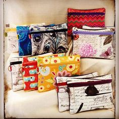 Free Pattern Project ~ Piper Pouch by CloBird Designs