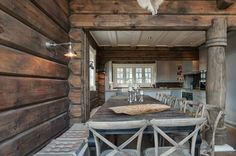 Lapas - ARHITEKTŪRA - S fani - Galerijas - Latlaft - draugiem.lv Outdoor Tables, Outdoor Decor, Log Homes, Patio, Outdoor Furniture, Interior Design, House, Home Decor, Timber Homes