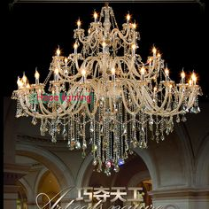 Aliexpress buy 48 lights gold empire crystal chandelier cheap light hoist buy quality light cathode directly from china light trolley aloadofball Images