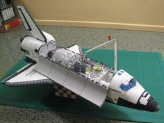 How to make a NASA Orion crew vehicle paper model - boing - Boing Boing BBS