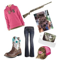 Cute country outfit! the boots could match but love them!