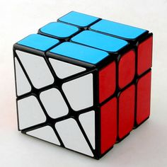 Magic Cubes New Black White 3*3*3 Pyramid Speed Magic Cube 98*98*98mm Professional Magic Cube Puzzles Colorful Educational Toys For Children Numerous In Variety