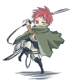 Seijuro Akashi << oh my word, he would he terrifying. He would probably just stare at the Titan and it would bow down.
