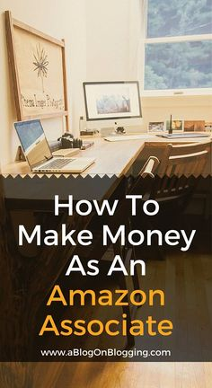 Find out how bloggers are earning full time incomes with the Amazon Associates Program: