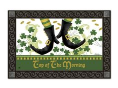 Magnet Works House Flag - Irish Jig Decorative flag at Garden House Flag