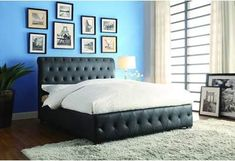 Hathaway Eastern King Canopy Bed Signature My Home