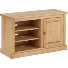 Buy Harrington 1 Door TV Entertainment Unit - Light Solid Pine at Argos.co.uk - Your Online Shop for Entertainment cabinets and units.