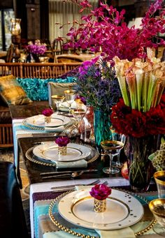Luxe Bohemian Wedding Reception