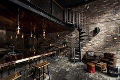 Donny's Bar Interior Design – Fubiz™