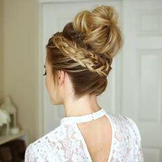 awesome summer wedding hairstyles ideas to copy now 3 Wedding Hairstyles Tutorial, Braided Hairstyles For Wedding, Easy Hairstyles For Long Hair, Bride Hairstyles, Cool Hairstyles, Wedding Hair Tutorials, Fashion Hairstyles, Hairstyles Videos, Medium Hair Styles