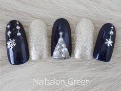 Christmas Gel Nails, Chic Nails, Minimalist Nails, Winter Nails, Nail Colors, Nail Art Designs, Style, Fashion, Christmas