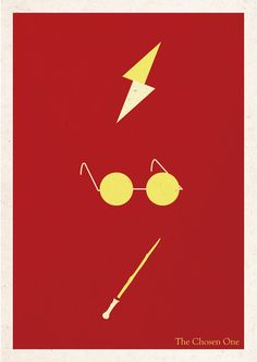Harry Potter minimalist poster by guiisouza