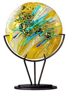 How To Make Sea Glass art - - - Beach Glass art Cactus - Stained Glass art Painting - Broken Glass Art, Sea Glass Art, Glass Wall Art, Window Glass, Glass Door, Tiffany Glass, Fused Glass Bowl, Glass Vase, Glass Art Design