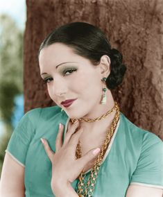 lupe velez in color - the Mexican Spitfire