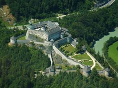 Beautiful Castles, Forts, Palace around the world. - Page 5 - SkyscraperCity Castle Ruins, Medieval Castle, Monuments, Hohenwerfen Castle, The 10th Kingdom, Where Eagles Dare, Germany Castles, Salzburg Austria, Beautiful Castles