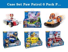 Case Set Paw Patrol 6 Pack Playsets Zuma's Hovercraft Skye's High Flyin' Copter Ryder's Rescue ATV Chase's Cruiser Rubble's Bulldozer Marshall's Fire Fightin' Truck by Nickelodeon. Case Set Paw Patrol 6 Pack Playsets Zuma's Hovercraft Skye's High Flyin' Copter Ryder's Rescue ATV Chase's Cruiser Rubble's Bulldozer Marshall's Fire Fightin' Truck.