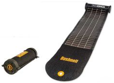 bushnell wrap solar panel and charger  - rolls-up and fits in your pocket.