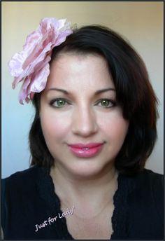 Bibi / Chapeau, Rose -- Lin, fleur et cabochon ancien - Mariages, Cérémonies, Cocktails... : Chapeau, bonnet par el-tocado-de-lea