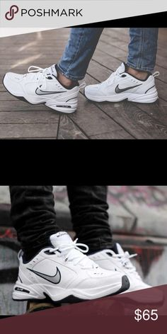 "NIKE Air Monarchs ( Dad Shoes ) Men's 6.5 equates to an 8 women's. These  are a 6.5. True to size. Nice bulky shoe that adds a staple to your ""street  wear"" ..."