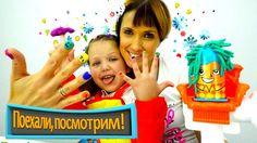Видео для детей Капуки Кануки. Набор Плей До ПРИЧЕСКИ/ едем в САЛОН КРАС...