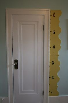 Altogether Persuaded: Height chart, growth chart, DIY