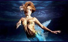 Ella es la mujer sirena. #mermaid #woman http://www.cribeo.com/estilo_de_vida/4290/conoce-a-hannah-fraser-sirena-profesional
