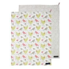 Kirstie Allsopp Savannah Coral Tea Towels