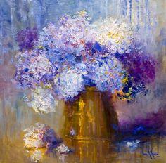 Por amor al arte: Nora Kasten Art Floral, Watercolor Flowers, Watercolor Art, The Joy Of Painting, Flower Painting Canvas, Pictures To Paint, Matisse, Artist Painting, Beautiful Paintings