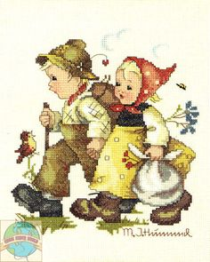 JCA / Hummel - Hansel and Gretel - Cross Stitch World