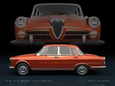 1958 - Alfa-Romeo 2000 Berlina