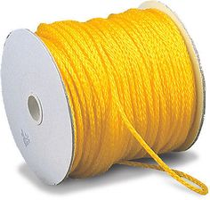 Ropes Cords and Slings 50816: Hollow Braided Poly Rope, Hi-Vis Yellow, 1000' -> BUY IT NOW ONLY: $43.95 on eBay!