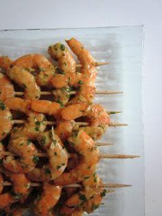Blog de recettes Weight Watchers Propoint... Ou pas!: Brochettes de crevettes à l'asiatique - Weight Watchers Propoint 3pp si vous comptez 0pp en JSC!!!