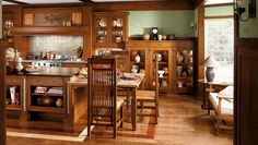 Image result for craftsman style kitchen design