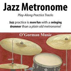 """Practice jazz with a JAZZ METRONOME.  A plain-old classical metronome won't cut it.  To develop the proper feel, you need that swing beat provided by a REAL jazz drummer.  Start out slowly and work your licks up to speed  with the proper swing """"feel"""" for your style.   Check it out, jazz musicians love it!"""