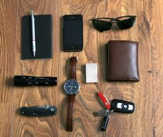 Everyday Carry Submitted By: laisspasser Rotring Rapid Pro 600 - Purchase on Amazon Moleskine Notebook - Shop on Amazon iPhone 4S with carbon case - Purchase on Amazon Ray ban Sunglasses - Shop on Amazon Eagletac TX25C2 - Purchase on Amazon Böker Magnum 01BO330 IWC portuguese - Purchase on Amazon S.T. Dupont lighter - Shop on Amazon Knirps Wallet - Purchase on Amazon Joop Capra Grainy Wallet Mini Victorinox Swiss Knife - Purchase on Amazon LaCie PetiteKey 32Go - Purchase on Amazon True…