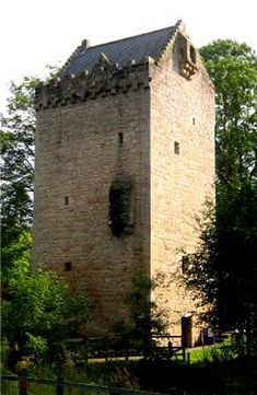 Peel Tower - The Tower of Hallbar in South Lanarkshire, Scotland.