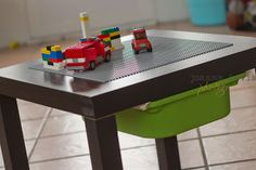 Build your own lego table