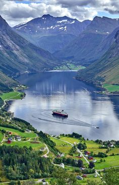 Hurtigruten is known internationally for its scenic cruises in the fjords.