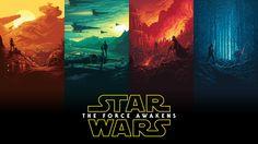 Star Wars: The Force Awakens IMAX Posters - Dan Mumford