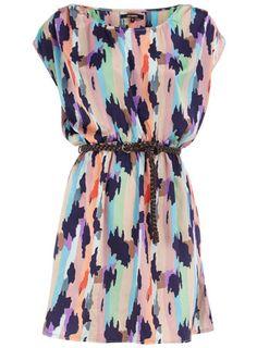 Pastel Tunic Tribal Dress