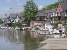 boathouse row philadelphia | Boathouse Row in Philadelphia