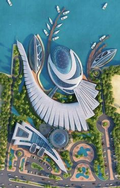 Architecture drawing - architecture Design is Future Home and Arhitecture 2019 Concept Art Landscape, Landscape Architecture Design, Architecture Portfolio, Concept Architecture, Futuristic Architecture, Sustainable Architecture, Beautiful Architecture, Contemporary Architecture, Pavilion Architecture