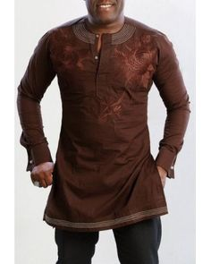 African Men's Casual Shirts MCS006