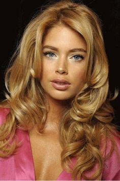 Hair color. Dark honey blonde. Love!